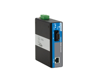 2-port 100M Unmanaged Industrial Fiber Transceiver Media Converter