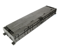 48 Fiber Splice Enclosure with 8 ports 643x175x76mm