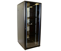 42U Network Server Rack, Single Vented Rear Door 600x1000mm