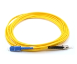 1m, SC to ST, Simplex, Singlemode Patch Cable