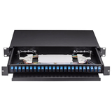 24 Core SC Simplex Preloaded Optical Patch Panel ODF