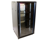 32U Network Server Rack, Single Vented Rear Door 600x600mm