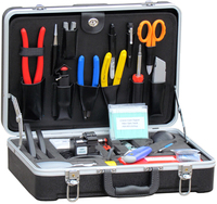 Fiber Optic Fusion Splicing Optical Tools Kit TKF-6500N