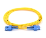 1m, SC to SC, Duplex, Singlemode Armored Fiber Cable