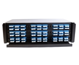 "3U 19"" Patch Panel for 9 F-Type Adapter Plates"