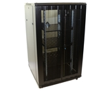32U Network Server Rack, Dual Vented Rear Doors 600x600mm