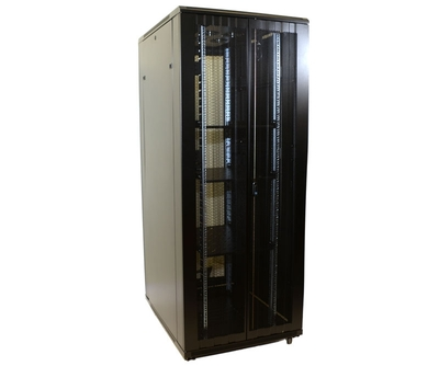 37U Network Server Rack, Dual Vented Rear Doors 600x600mm