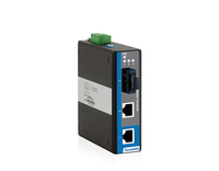 3-port 100M Unmanaged Industrial Fiber Transceiver Media Converter