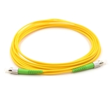 1m, FC/APC to FC/APC, Simplex, Singlemode Patch Cable