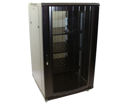 32U Network Server Rack, Dual Vented Rear Doors 800x800mm