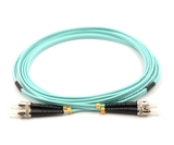 1m, ST to ST, Duplex, OM3 Armored Fiber Cable
